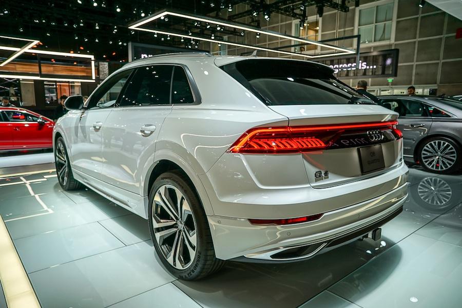 LA Auto Show-Audi Q8 rear