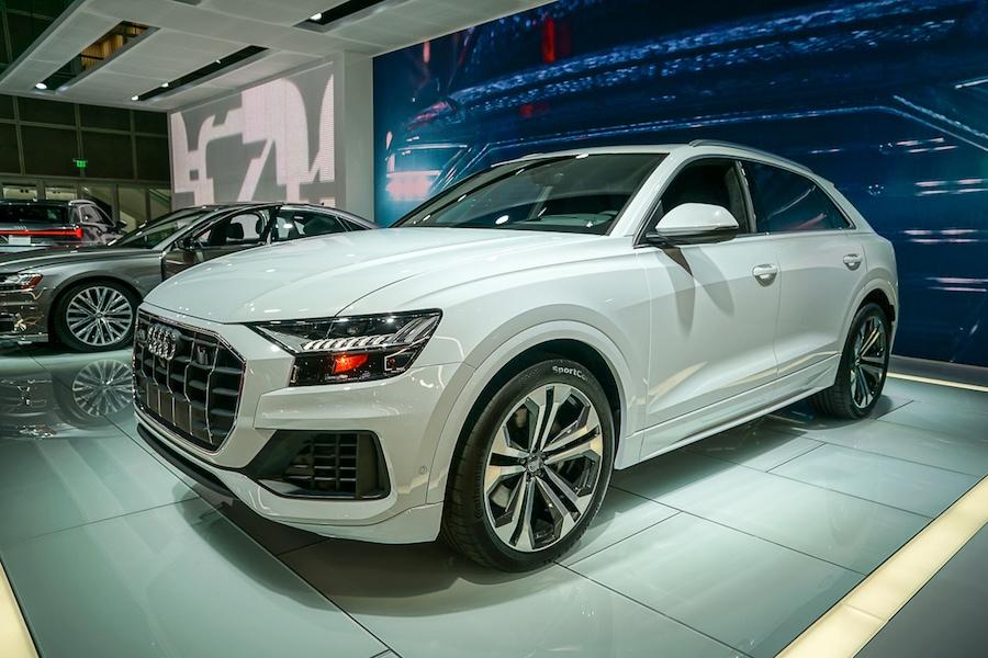 LA Auto Show-Audi Q8