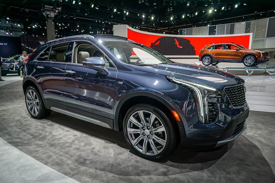 LA Auto Show-Cadillac XT4