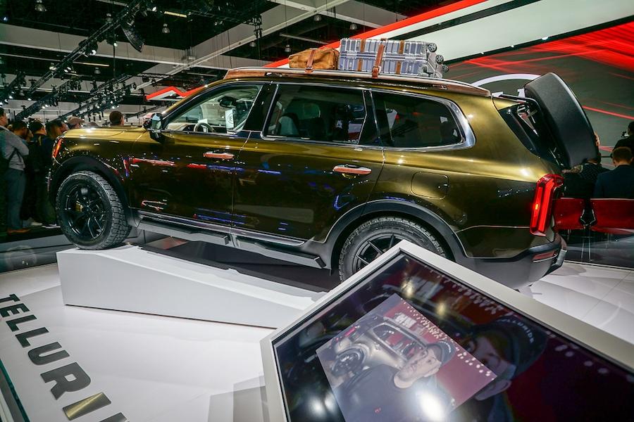 LA Auto Show-Kia Telluride