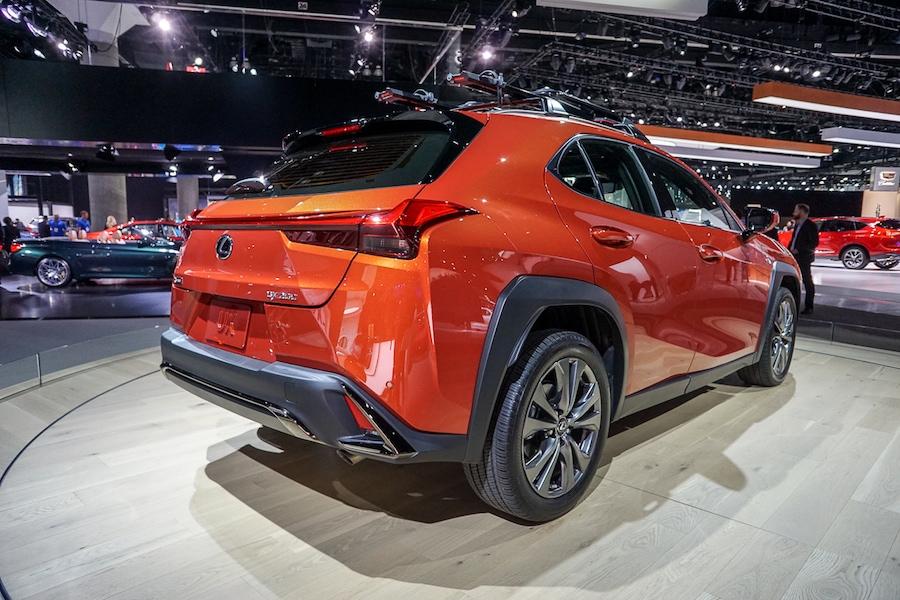 LA Auto Show-Lexus UX
