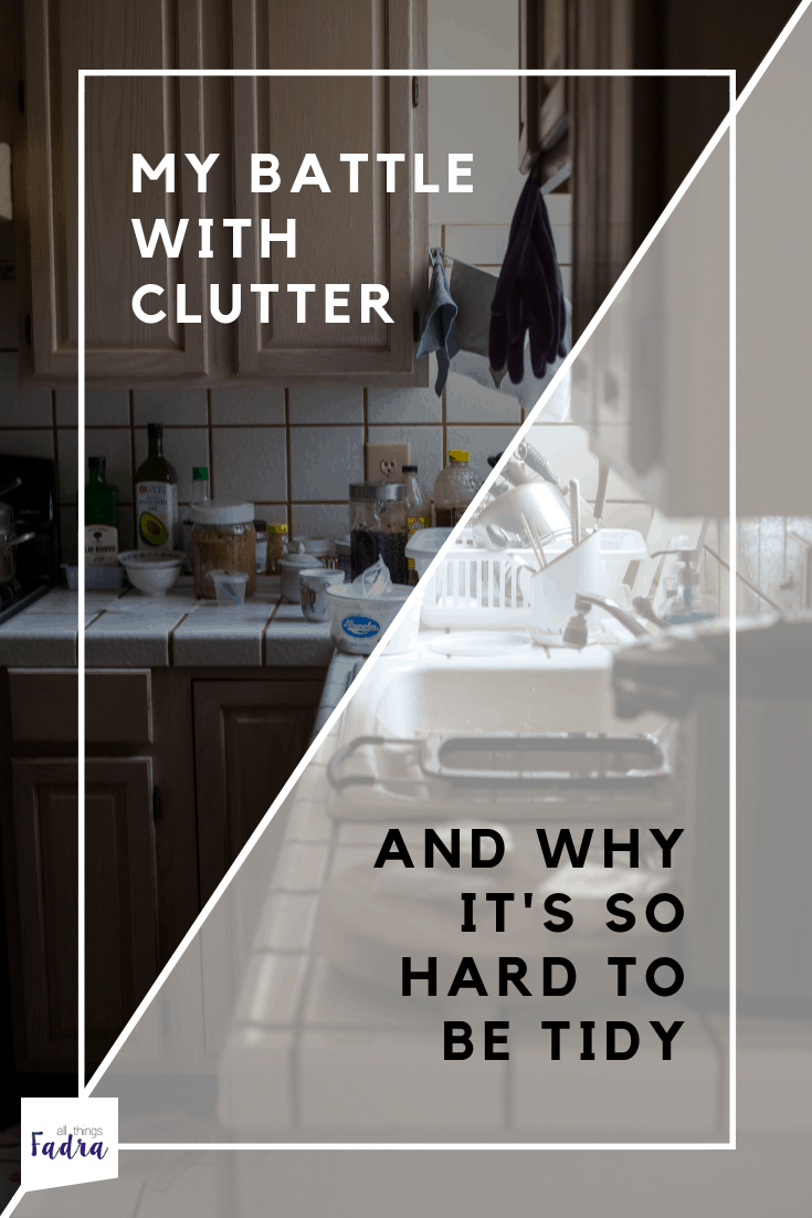 My battle with clutter
