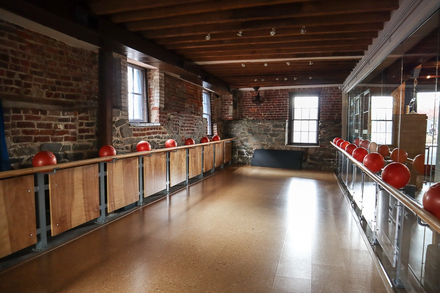 A gorgeous and historic barre studio in Georgetown