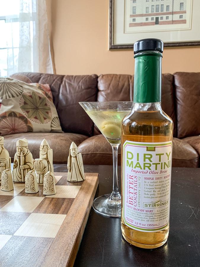 Stirrings Dirty Martini Mix