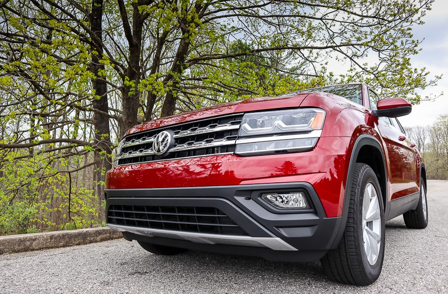 VW Atlas - a very imposing vehicle