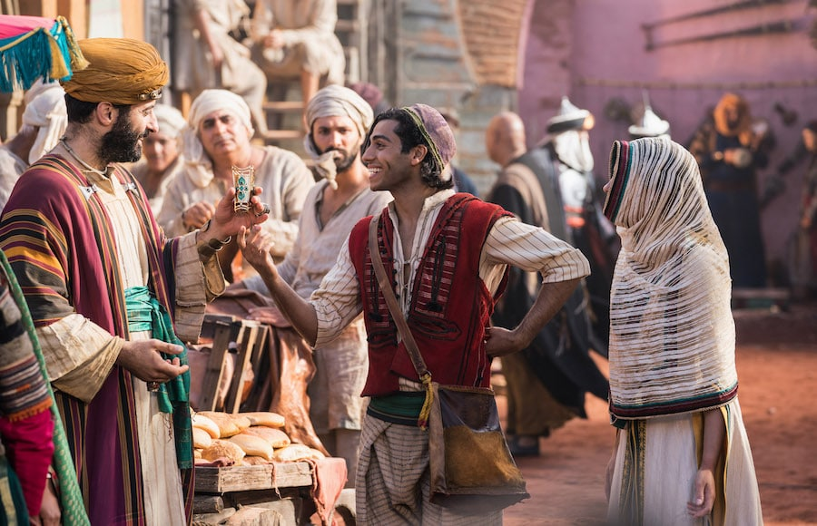 Aladdin in the marketplace