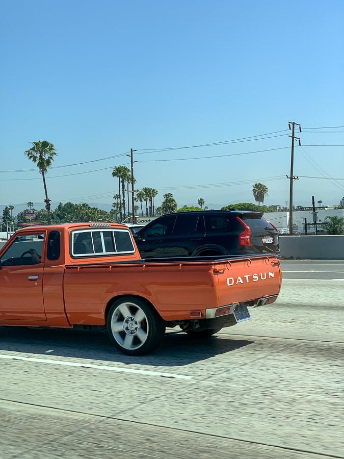 Datsun spotted in California
