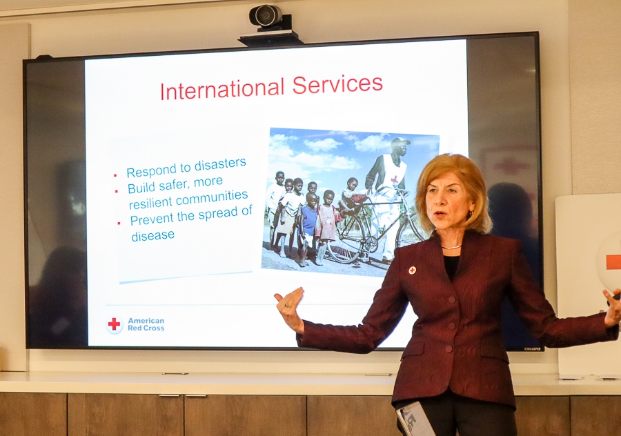 American Red Cross CEO Gail McGovern