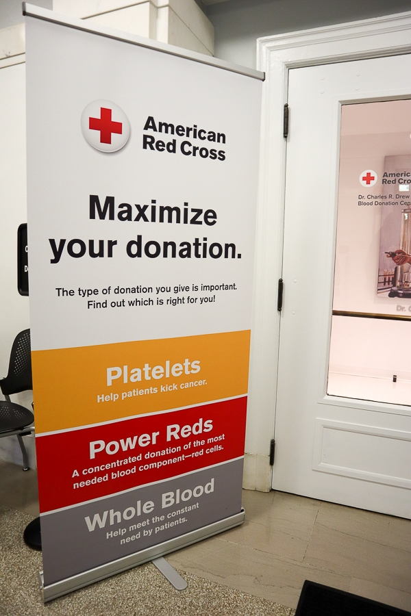 American Red Cross blood donation options