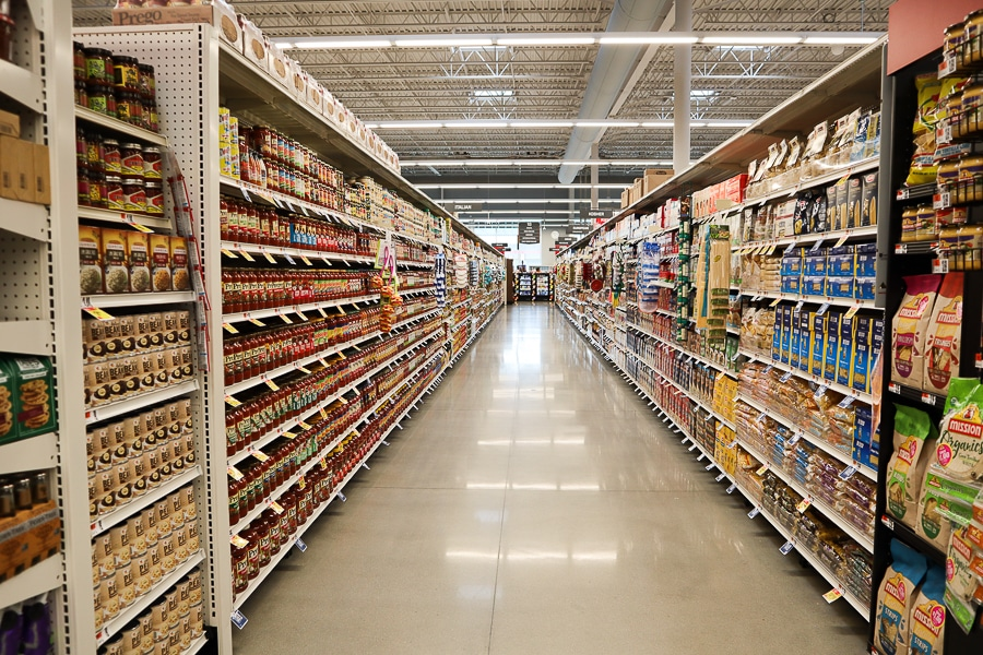 That's a long aisle!