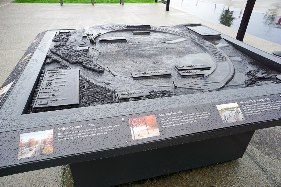 Flight 93 Memorial layout