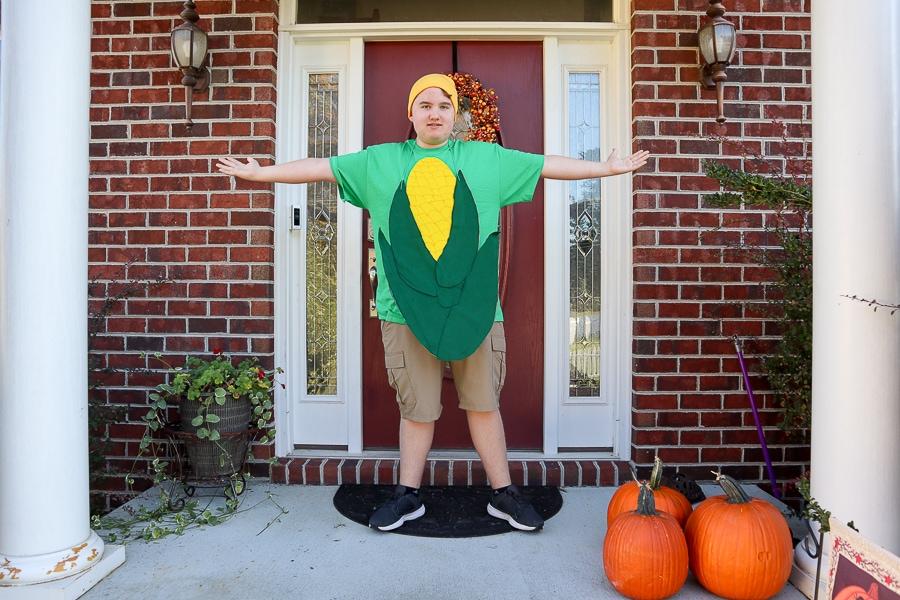 DIY Corn Costume