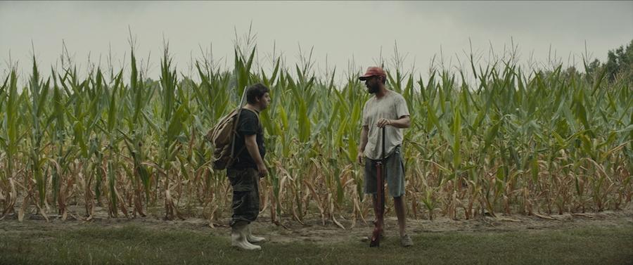 Zack Gottsagen and Shia LaBeouf in The Peanut Butter Falcon