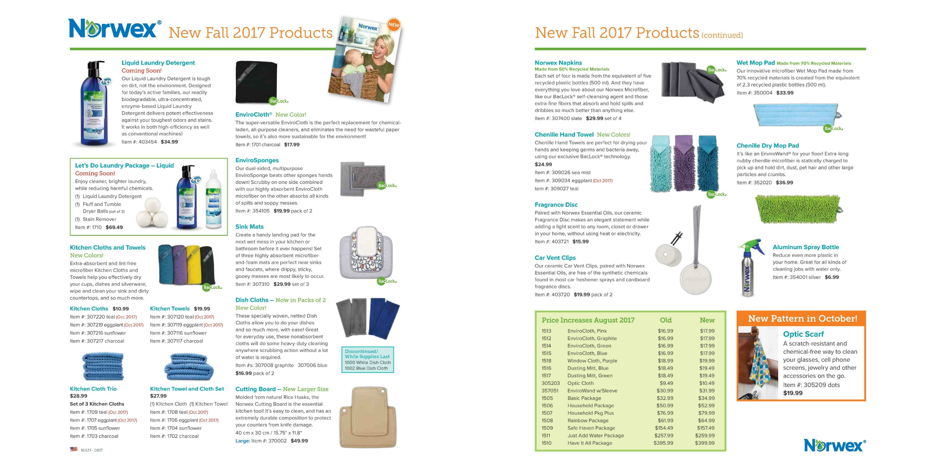 2017 Fall new Product Flyer US