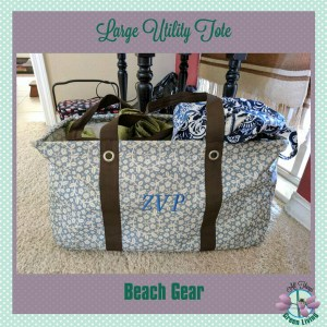 Thirty One Gifts Large Utility Tote
