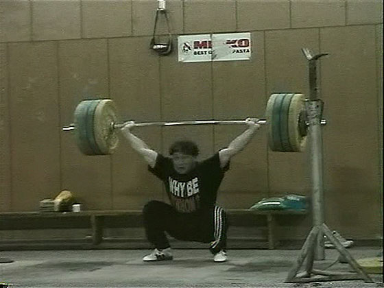 Georgi Gardev 170kg Snatch