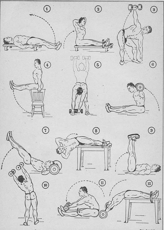 Dynamic Abs Exercises