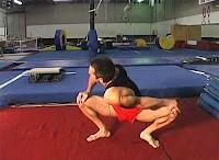 warm up jordan short shoulder squat