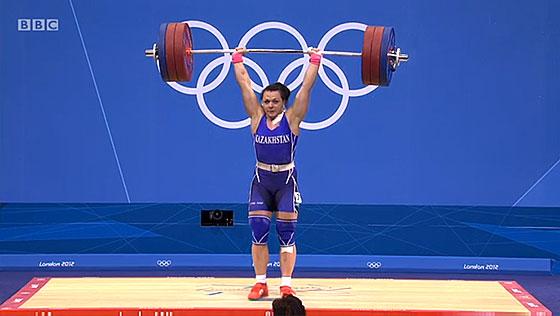 Svetlana Podobedova 161kg Clean Jerk