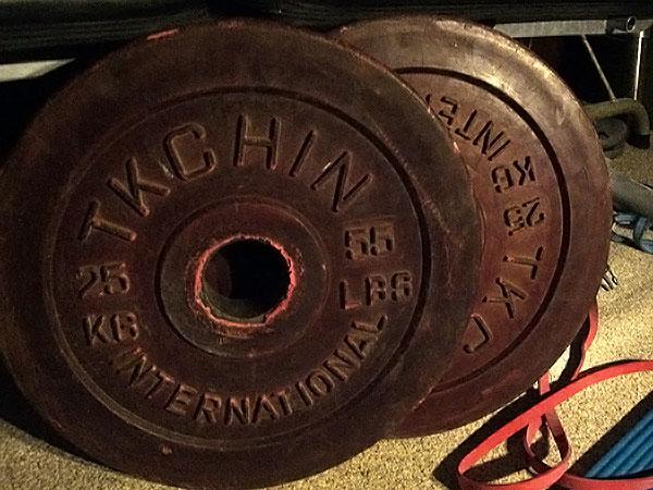 25kg TKCHIN bumper plates