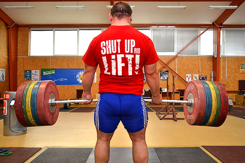 Jirka Orsag 250kg Deadlift Shut Up and Lift
