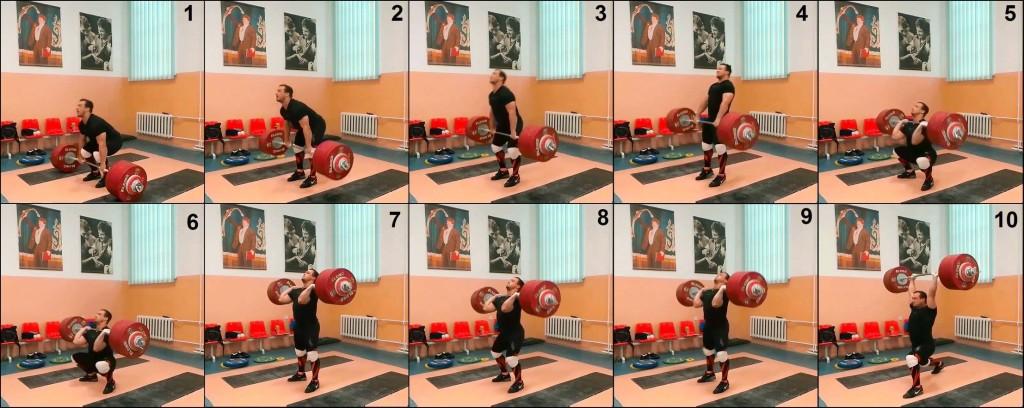 ilya ilyin 241kg sequence frame by frame key positions