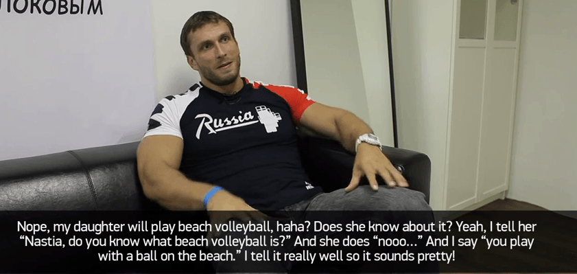 dmitry daughter volleyball