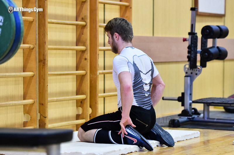 Viktor Getts Knee Quad Stretch