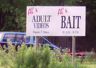 Adult Videos and Bait Shop