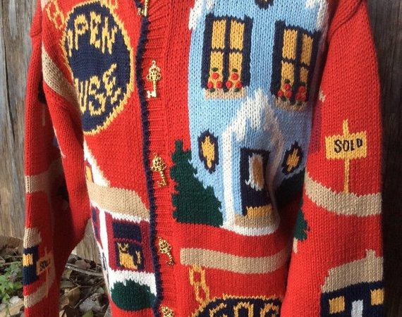 Vintage Real Estate Sweater