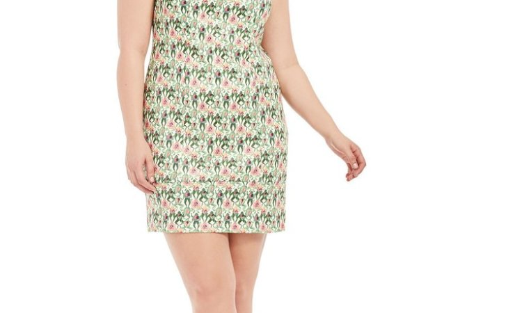 Gwynnie Bee frog print dress