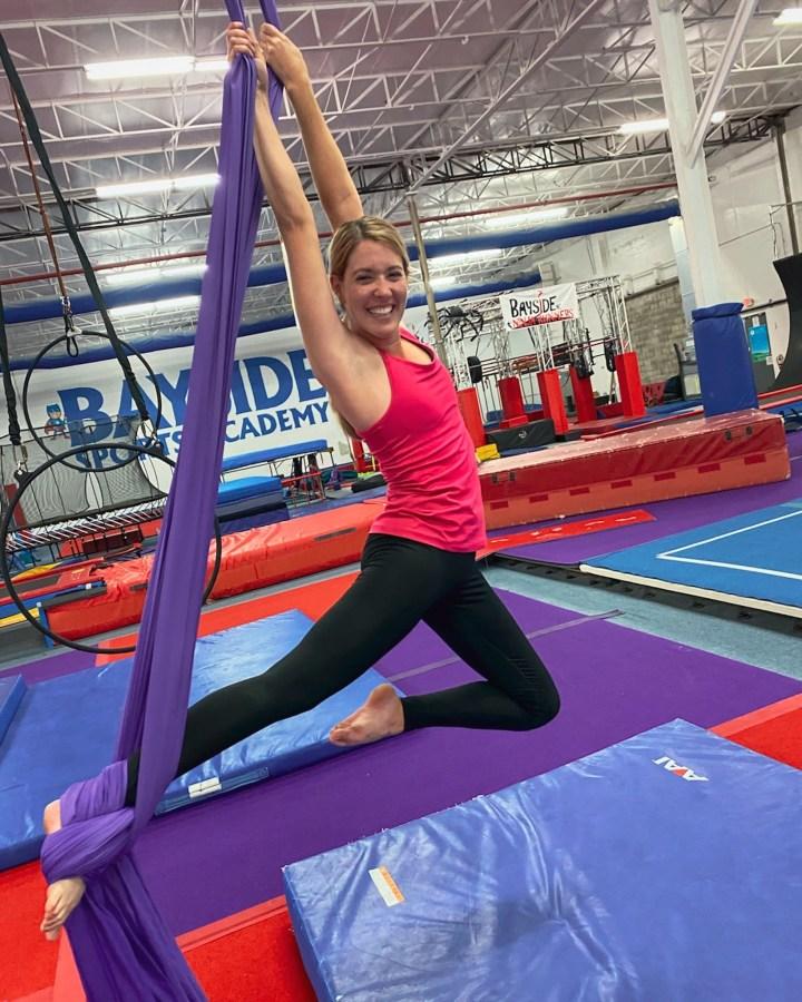 I Tried An Aerial Silk Acrobatic Class