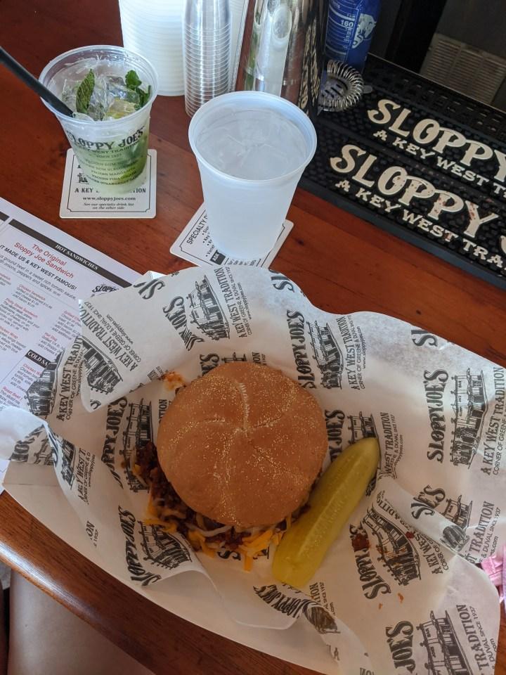 Sloppy Joe's in Key West Florida