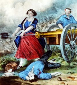 Molly_Pitcher_currier_ives