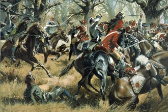 Battle of Cowpens by Don Troiani. Source: U.S. National Guard