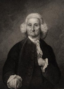 Portrait (circa 1855) of Jonathan Trumbull by E. Mackenzie.