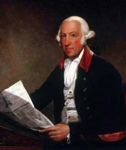 Portrait of James Rivington by Ezra Ames. Source: New York Historical Society, Gift of Dr. Samuel C. Ellis