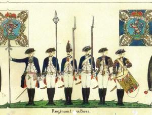 """""""Darmstaedter Handschrift,"""" 1785, Georg Ortenburg, Hessisches Militaer."""