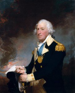 Portrait of Horatio Gates by Gilbert Stuart, painted 1793-94. Current location: The Metropolitan Museum of Art