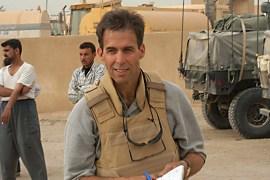 Rick Atkinson in Iraq. (Courtesy of Rick Atkinson)