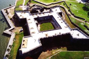 Castillio de San Marcos in St. Augustine was built by the Spanish, but by 1778 was a centerpiece of British defenses in the colony of East Florida. (National Park Service)