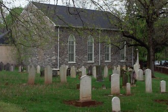 Old Greenwich Presbyterian Church (Photo by author)