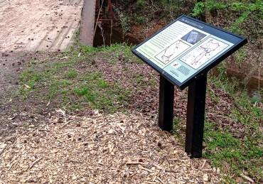 Battle of Kelsey Creek sign (revwartour.com)