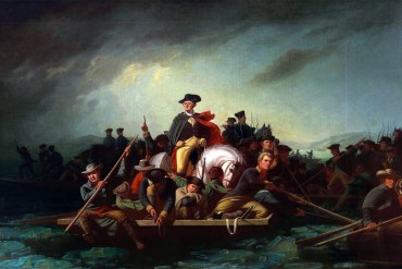 Washington Crossing the Delaware by George Caleb Bingham (Chrysler Museum of Art)