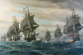 Second Battle of the Virginia Capes (U.S. Naval History and Heritage Command)