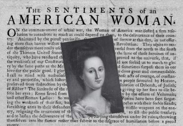 Offering of the Ladies: Esther Reed's Sentiments, Washington's Objections -  Journal of the American Revolution