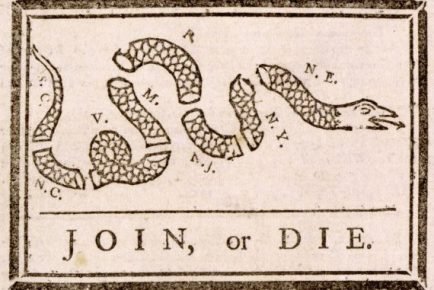 Image result for join or die political cartoon