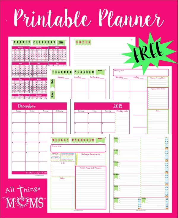 free printables planner # 56