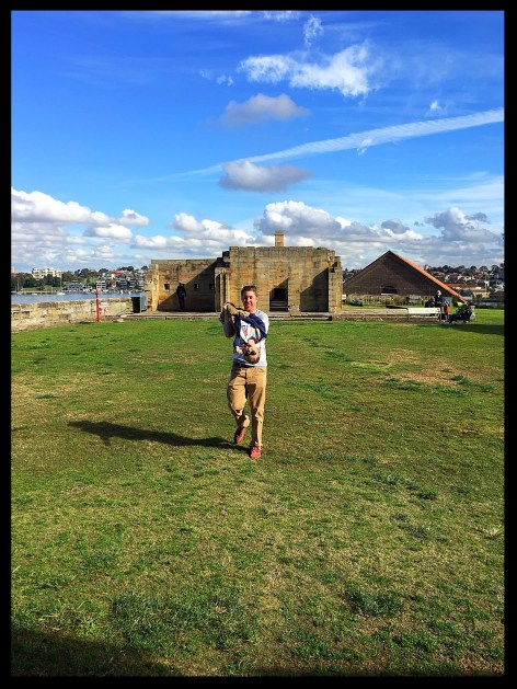 cockatoo island is great family fun