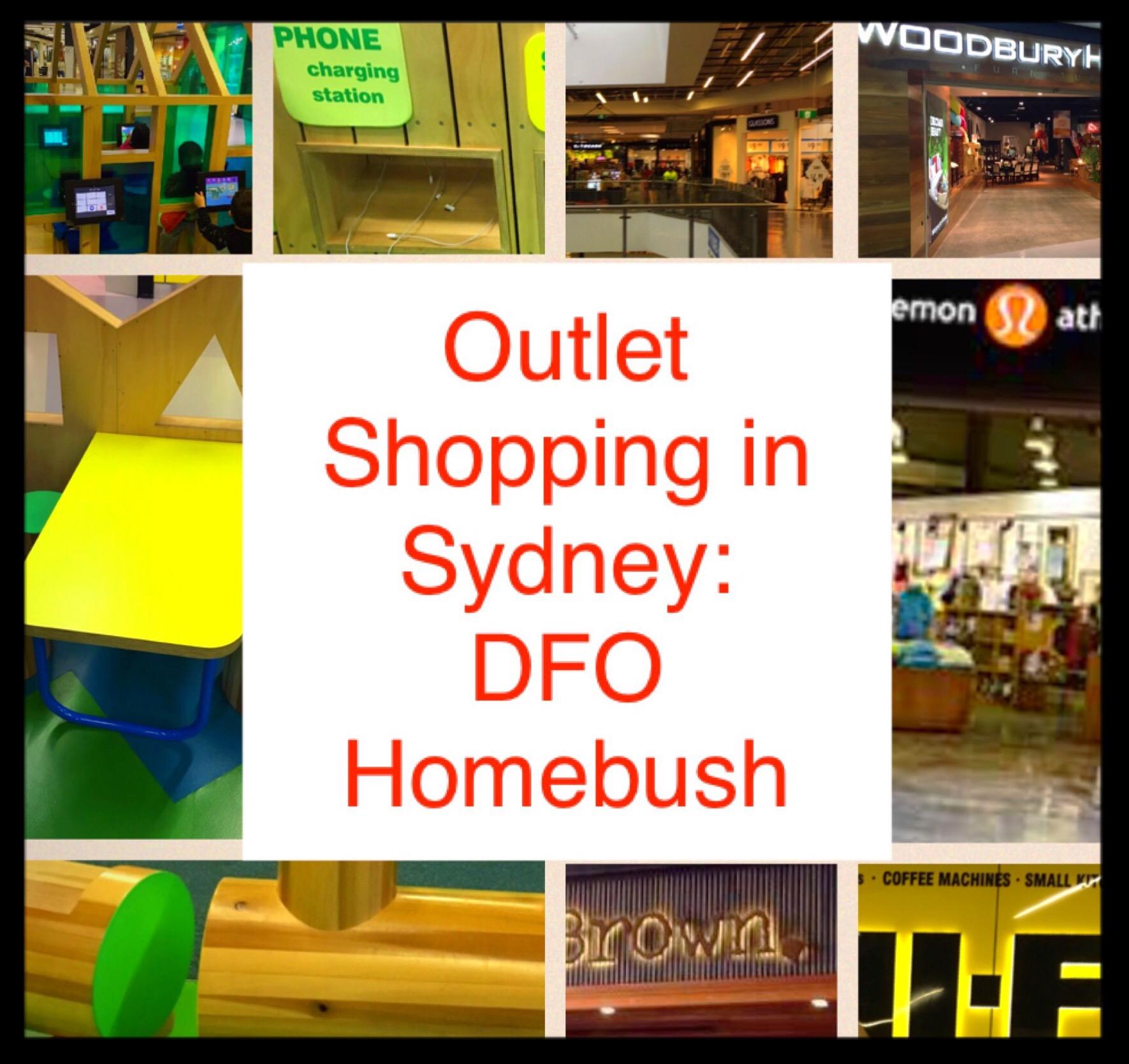 DFO Homebush Outlet Shopping
